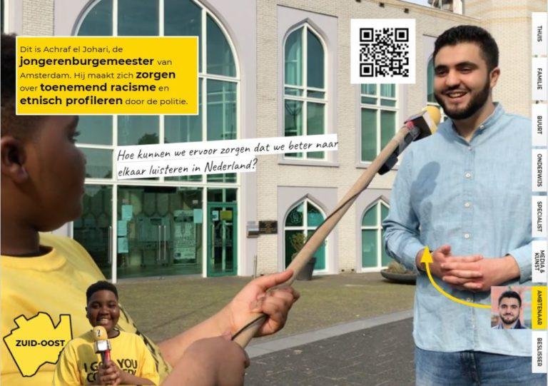 Darryl interviewt de jongerenburgermeester van Amsterdam!