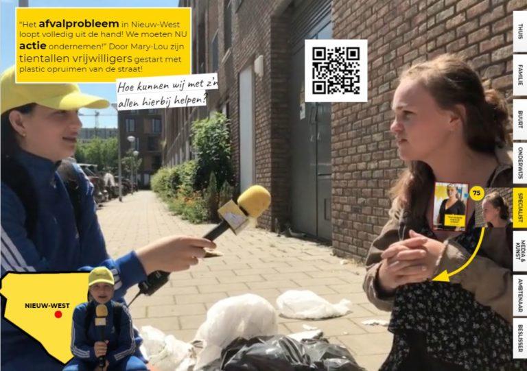 Afval in Amsterdam: De buurt wil actie!