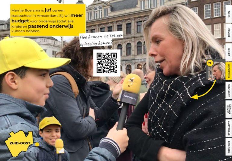 Marije Boersma wil meer budget voor onderwijs!
