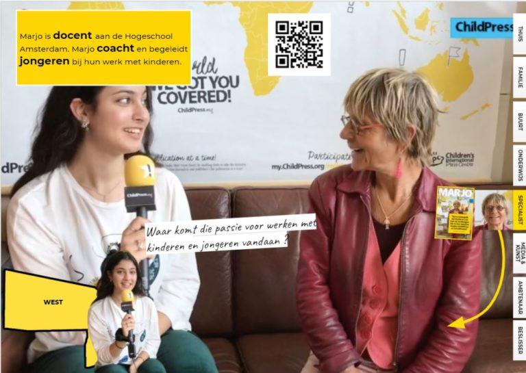 Marjo is docent én coach: passie voor onderwijs