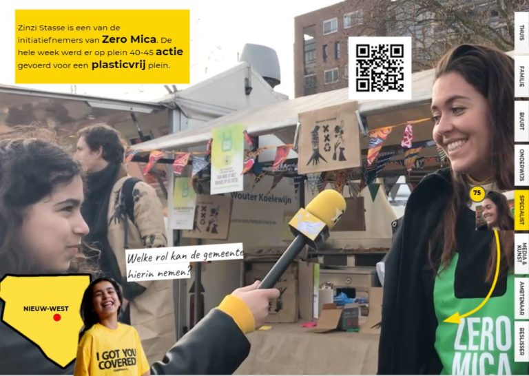 Zero Mica maakt de stad plastic-vrij!
