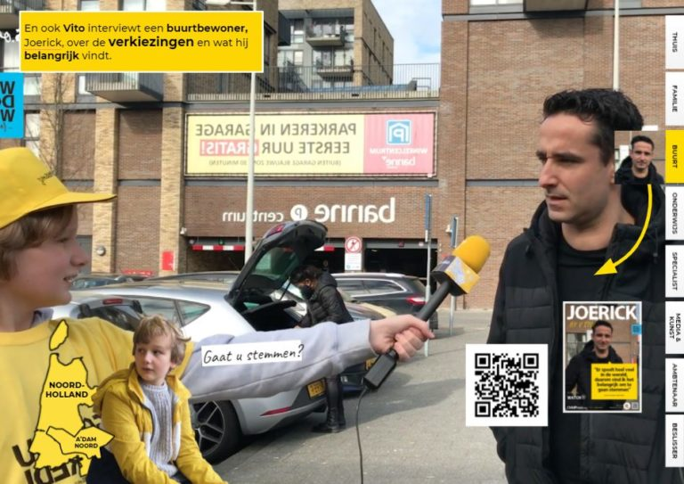 Vito interviewt buurtbewoners: Stem jij, ja of nee?