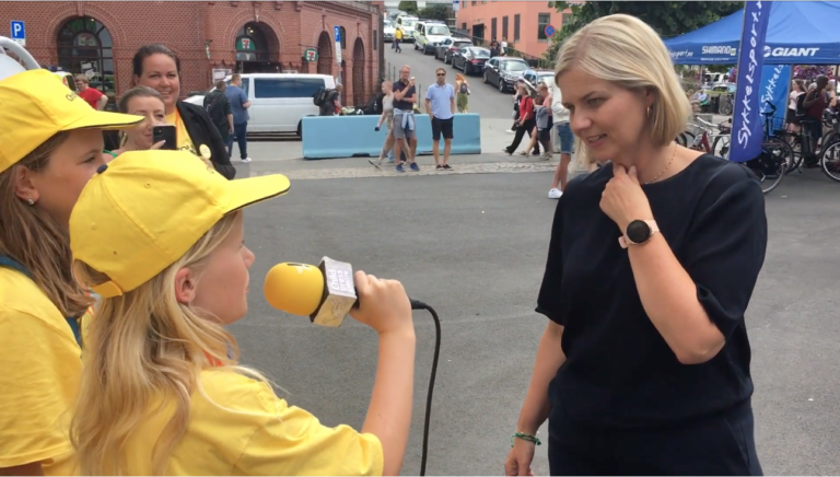 Guri Melby interviewed by ChildPress at Arendalsuka 2021