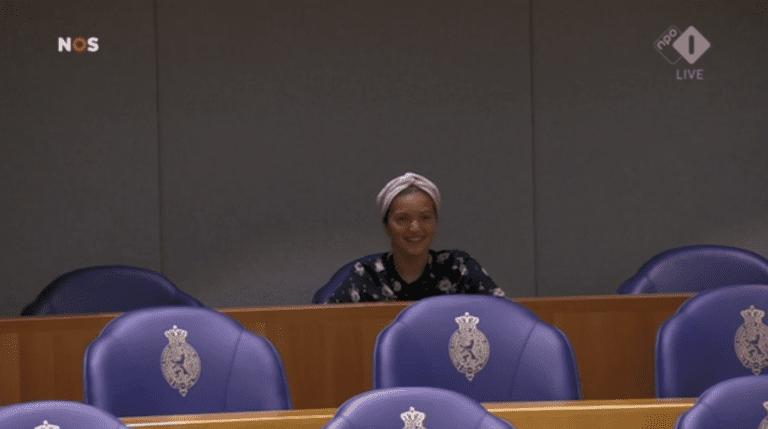Imane te gast in de Tweede Kamer